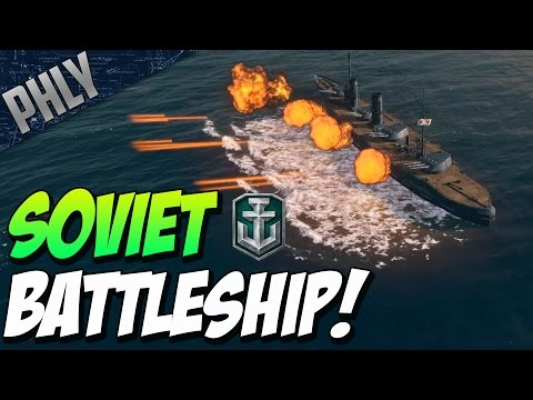 World Of Warships NEW - RUSSIAN BATTLESHIP - Imperator Nikolai I Soviet Battleship