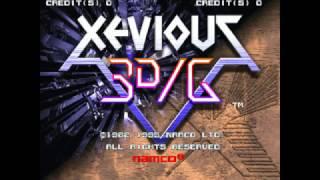 Xevious 3D/G (Arcade) Game Clear~