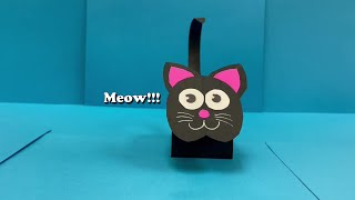@ Home with Your Library: Paper Kitty Crafting with Danny