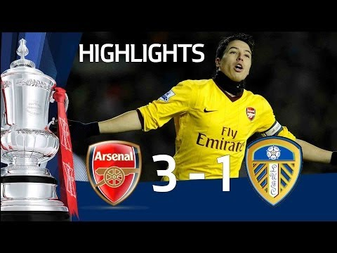 Arsenal 3-1 Leeds United | The FA Cup 3rd Round Replay - 19/01/11