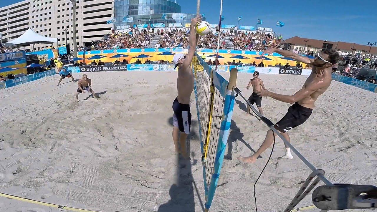 Avp Beach Volleyball Atlantic City Men S Final Gopro Clip