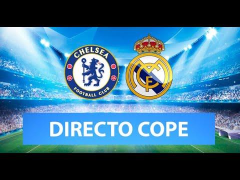 (SOLO AUDIO) Directo del Chelsea 2-0 Real Madrid en Tiempo de Juego COPE