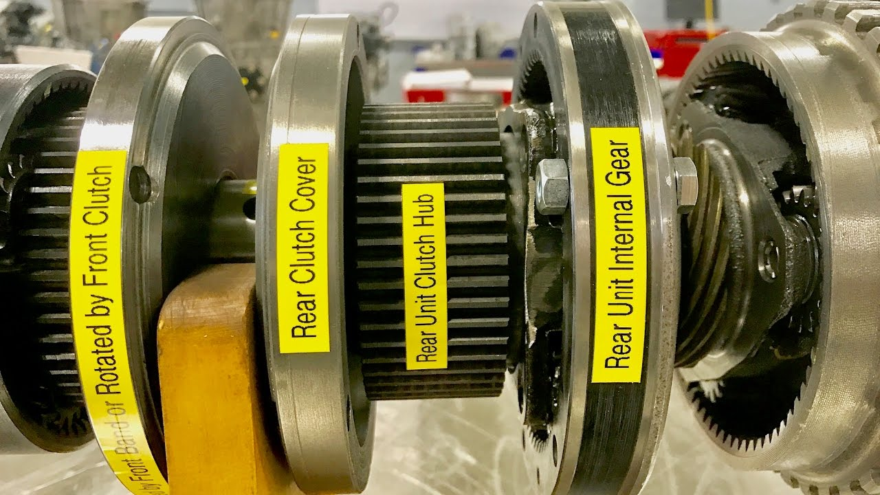 World's First Mass-Produced Automatic Transmission - Part 2 - Guts and Gears
