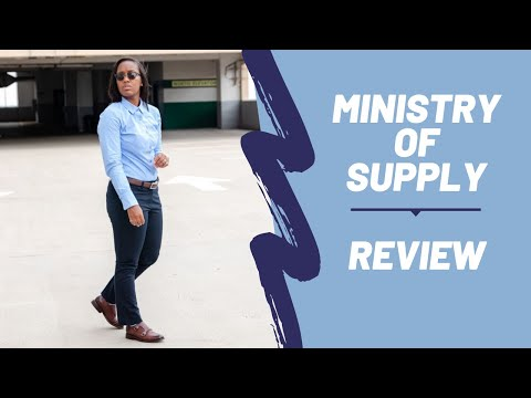 Ministry Of Supply Review   Dress Shirt & Trousers