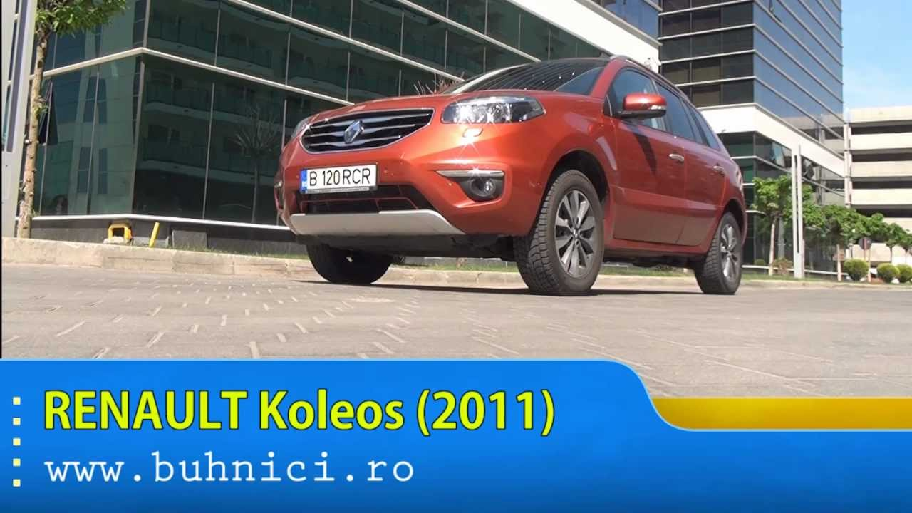REVIEW - Renault Koleos 2011 (www.buhnici.ro)