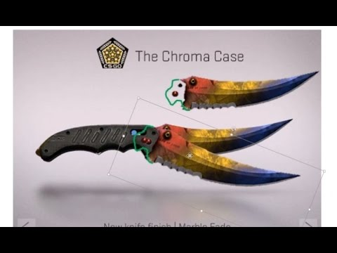 How I Made The Cs Go Flip Knife Template Youtube