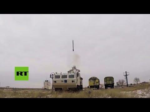 TOR-M2DT: Rusia pone a prueba su nuevo sistema de defensa antimisiles