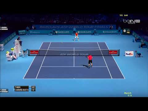 Tennis Elbow 2013 | ATP Worlds Tour Finals 2017 | Groupe Sampras | Thiem vs Carreño Busta