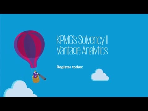 KPMG's Solvency II Vantage Analytics