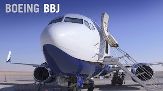 BBJ Transforms the Boeing 737 Into a Long-haul, VIP-Class Aircraft – AINtv