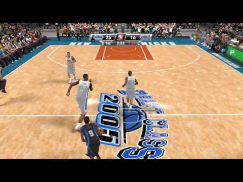 NBA 2K9 PS3 2006 Draft Class vs 2005 Draft Class video game