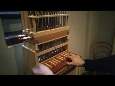 Pipe Organ Model Prague Museum of  - Chopsticks