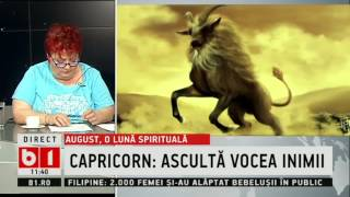 HOROSCOP, ASTROLOGUL MINERVA, ZODIA CAPRICORN- AUGUST