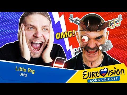 Reaction to Russia Eurovision 2020 Little big - Uno