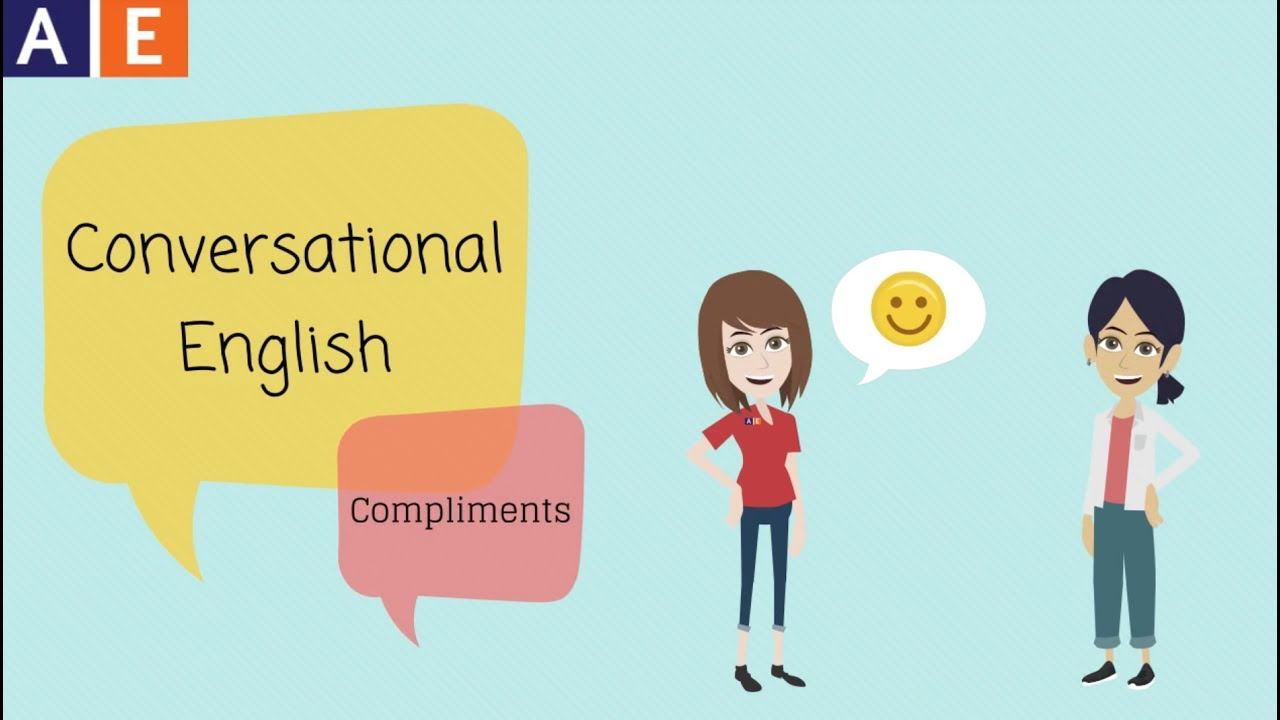 Conversational English Giving Compliments Youtube