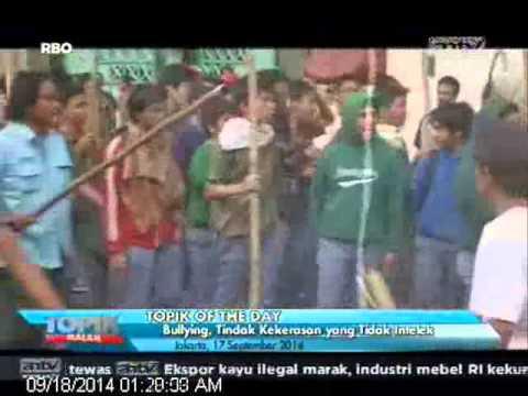 [ANTV] TOPIK OF THE DAY Kekerasan di SMAN 70 Jkt Berujung DO