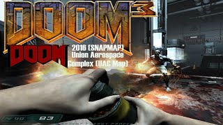 DOOM 3 MOD: Doom 2016 (SNAPMAP) UAC Map (Mod for Doom III) - NO DEATH RUN  (Complete Walkthrough)