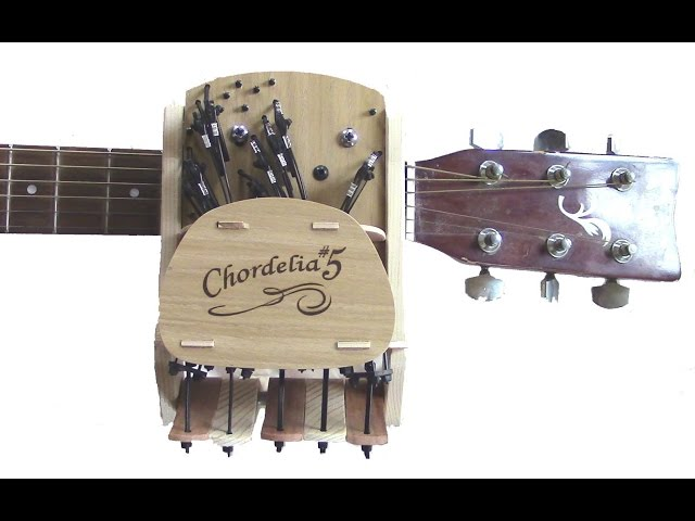 Ridiculous Contraption Takes All the Learning Out of Learning the Guitar