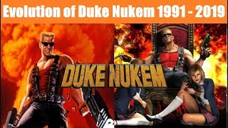 History/Evolution of Duke Nukem (1991-2019)