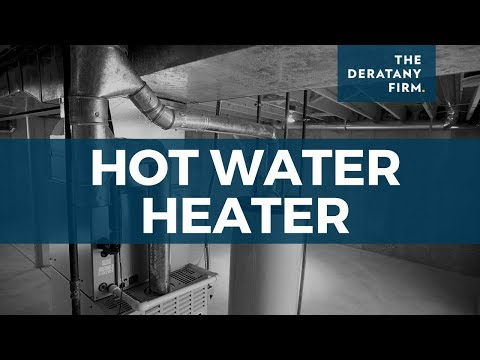 Hot Water Heater - Chicago Personal Injury Attorney Jay Paul Deratany