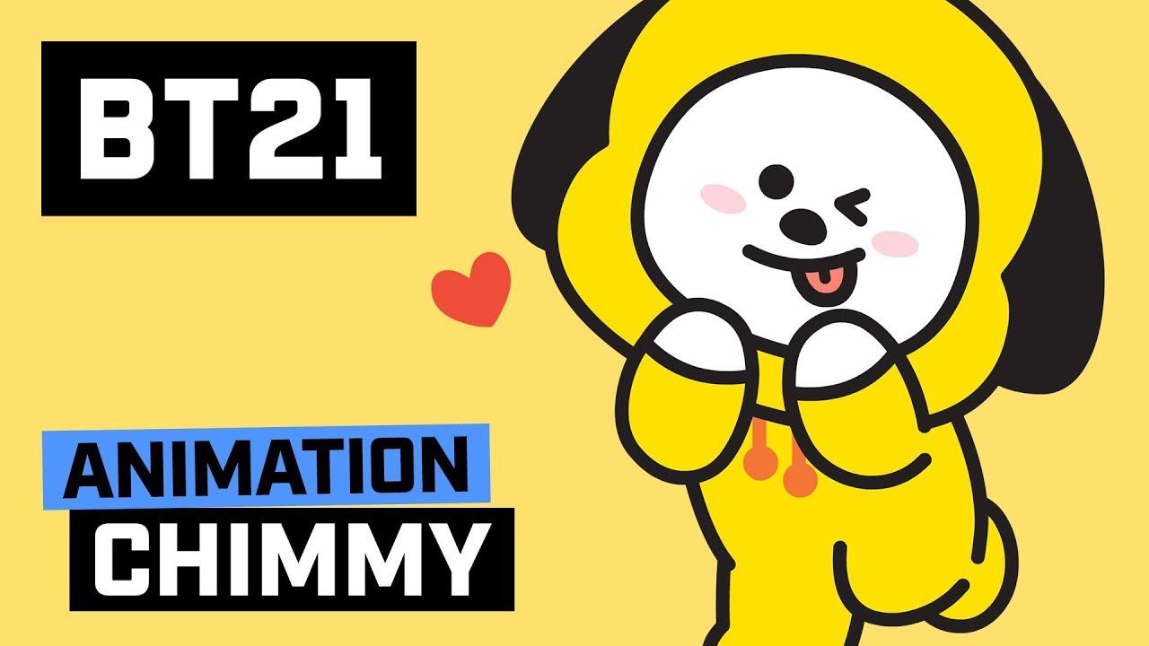 Love Animation Wallpaper Bt21 Hi I Am Chimmy Youtube