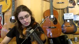 Jacobus Stainer Style Fiddle - Demo