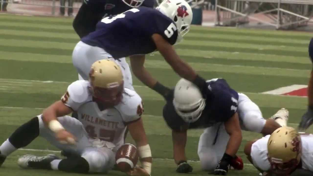 2012 Linfield College Football: Willamette Highlights ...