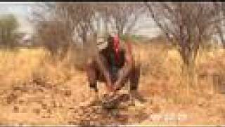 Survival in the desert - Ian Wright in the Kalahari - BBC