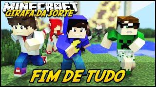 Minecraft: GIRAFA DA SORTE - FIM DE TUDO! #3 (Lucky Block Mod)
