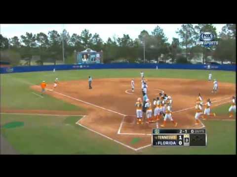 03/17/2013  Tennessee vs Florida Softball