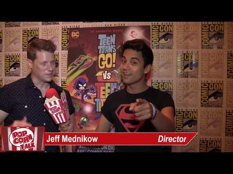 Jeff Mednikow | Teen Titans Go! | SDCC 2019