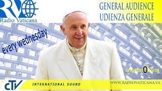 Pope Francis General Audience 2015.11.11