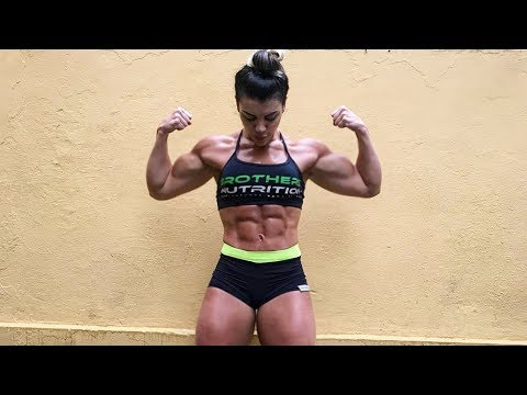 Girl With Muscles | Raissa Rafaelli Workout | Female Bodybuilding Fbb