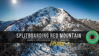 Pacific Northwest Backcountry Splitboarding Red Mountain March 2019