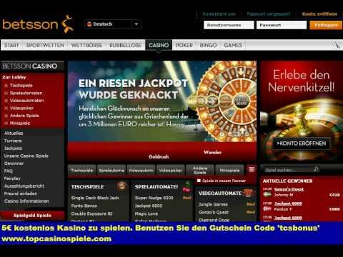 5€ betsson casino bonus code - casino bonus ohne einzahlung