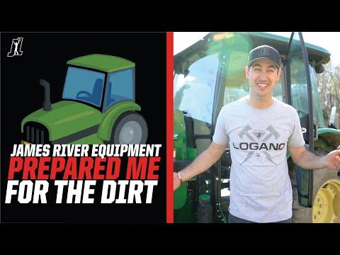 @JamesRiverEquip Prepared Me For The Dirt!