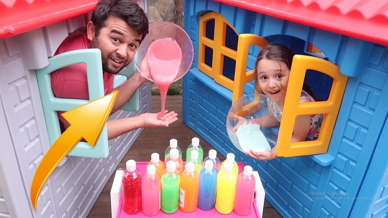 3 Renk Slime, 3 COLORS OF GLUE SLIME - Oyuncak Avı