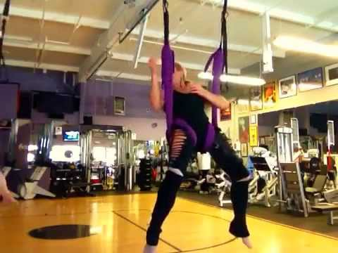 Aerial Yoga Play Training Sequence