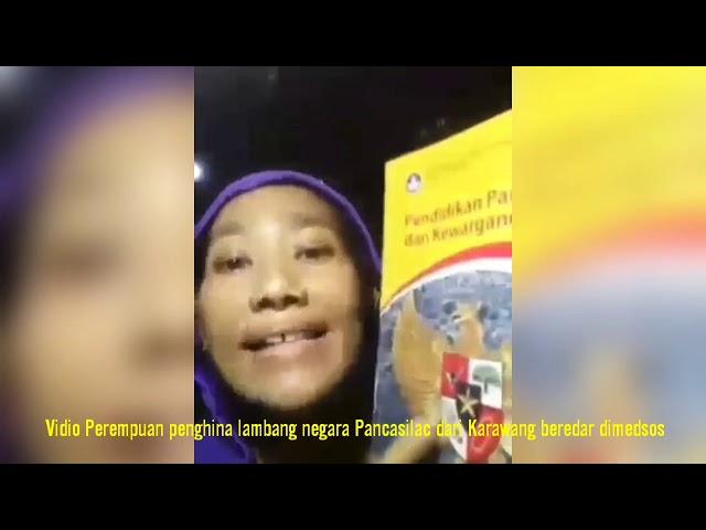 Jalani Tes Kejiwaan, Perempuan Penghina Pancasila asal Karawang