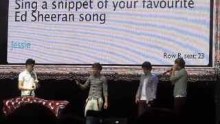 "Niall Horan Singing ""The A Team"" by Ed Sheeran June 17, 2012"