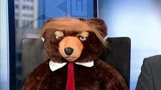 Trumpy Bear giving the Teddy bear a run for its money