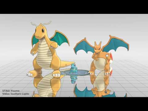 【UTAUカバー+MMD】Pokemon   ワンダホー・ニッポン (Wonderful Nippon)