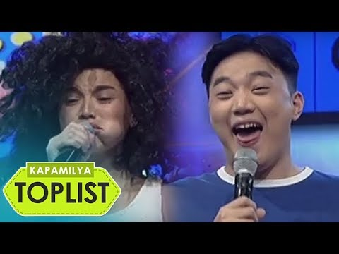 Kapamilya Toplist: 10 Weirdiest and wackiest Copy Cut and Cash-Ya Fun-nishments in It's Showtime