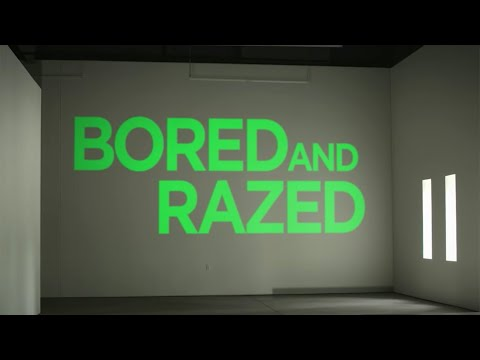 Bored and Razed (Lyric Video)