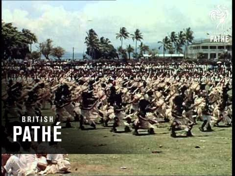 The Royal Tour - Fiji And Tonga - Reel 1  Part 2 (1954)