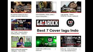 Gambar cover Top 7 GAFAROCK BEST COVER LAGU INDO