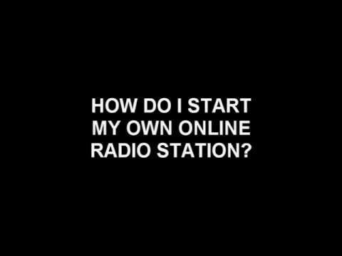 Tutorial for your online radio station (english)