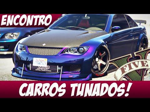 GTA 5 - ENCONTRO DE CARROS TUNADOS!
