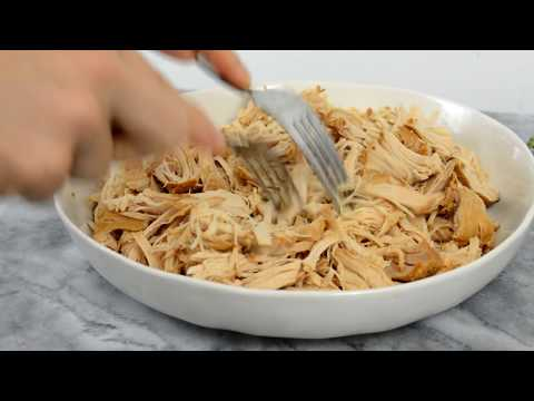How to make shredded chicken breast in slow cooker