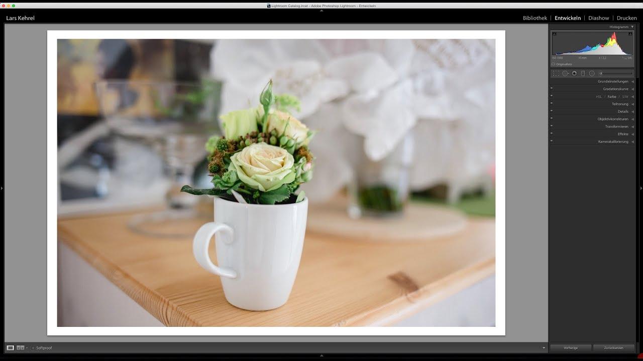 LaKe Lightroom Tutorials - Quicktipp - Weißer Rahmen um das Bild ...